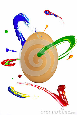 Paint orbit around the egg