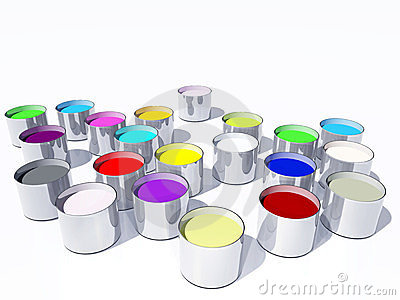 Paint pot collection