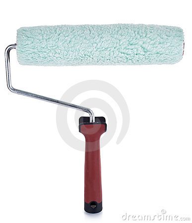 Free Paint Roller Royalty Free Stock Images - 21823719