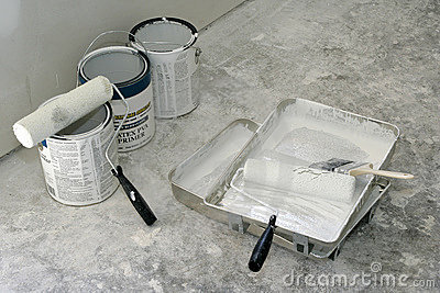 Paint, Rollers and Pans