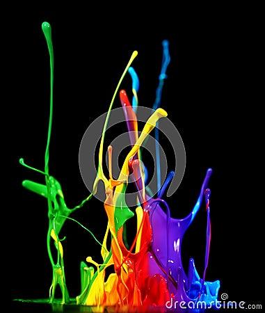Free Paint Splash Stock Photography - 27559962