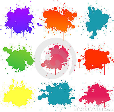 Free Paint Splat Royalty Free Stock Photo - 14590705