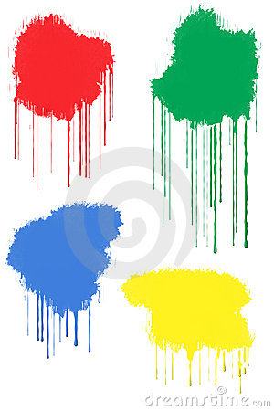 Free Paint Splats Royalty Free Stock Photos - 318828
