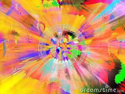 Paint Splatter Explosion