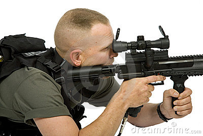 Paintball狙击手