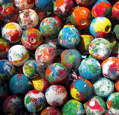 Painted Balls