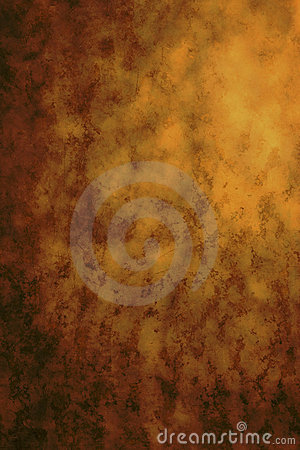Painted Brown Abstract Background