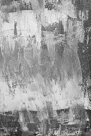 Painted canvas in grey colors