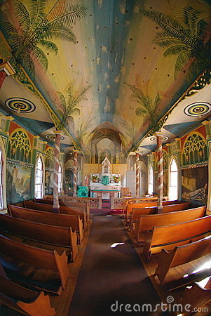 Free Painted Church Royalty Free Stock Images - 5028849