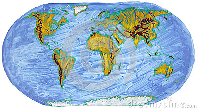 Painted Earth primitive map