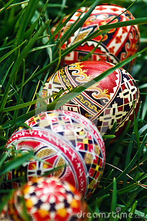 Painted Easter eggs 19