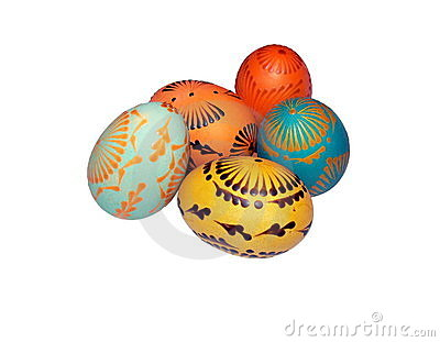 Painted Easter eggs 2