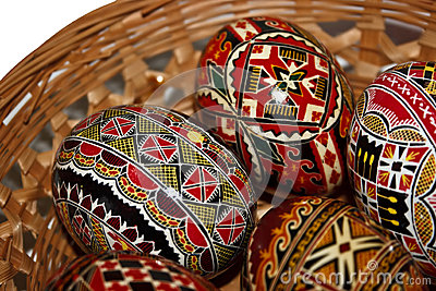 Painted Easter eggs 20