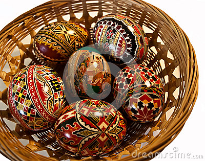 Painted Easter eggs 25