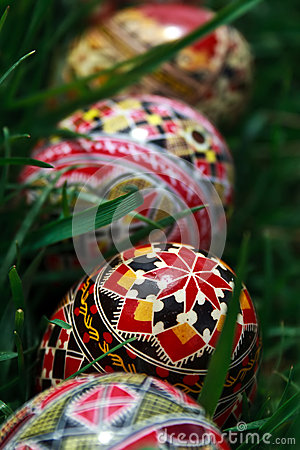 Painted Easter eggs 3