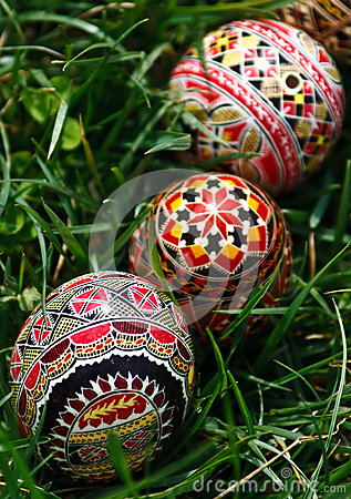 Painted Easter eggs 5