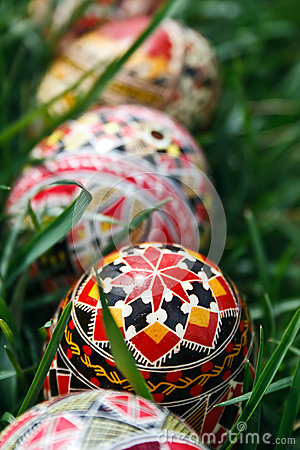 Painted Easter eggs 15
