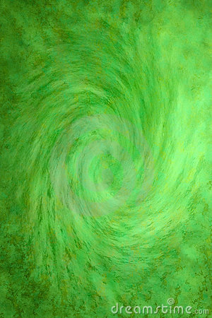 Free Painted Green Swirl Background Stock Image - 11250731
