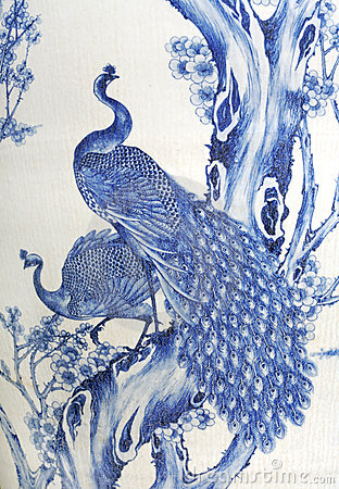 Painted Peacocks