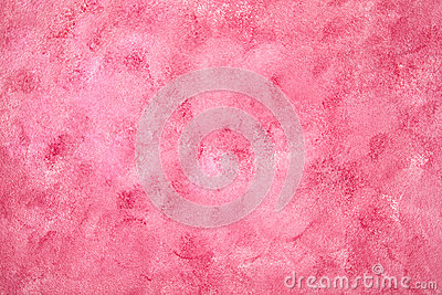 Painted pink background