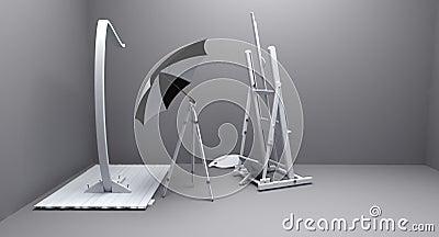 Painter atelier