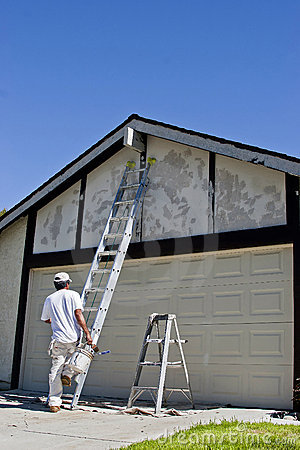 Free Painter Getting Ready Stock Photos - 21409953