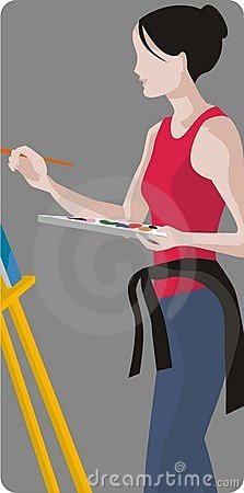 Painter Illustration