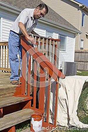 Painter Painting Deck