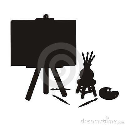 Painter Stuff Silhouette