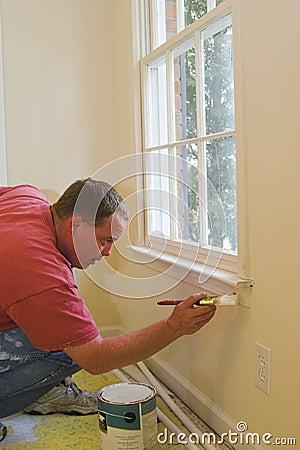 Free Painter Working Royalty Free Stock Image - 2131856