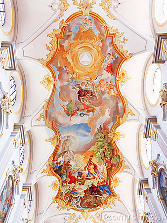 Painting on the Church s Ceiling