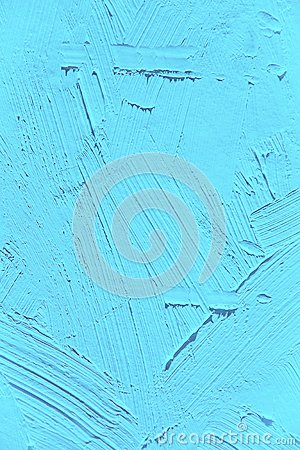 Free Painting Close Up Of Light Blue Island Paradise Pantone Color Stock Photography - 86692572