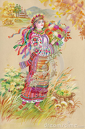 Painting Collection: Easter slavic tradition