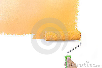 Painting - Home Improvement  / isolated on white
