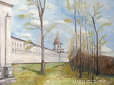 Painting of New Jerusalem Monastery