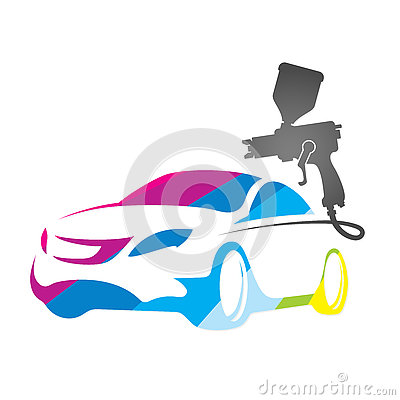 Free Painting Of Auto Design Royalty Free Stock Photos - 80093028
