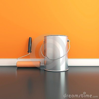 Free Painting Of Walls Royalty Free Stock Images - 23739099