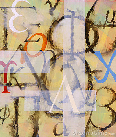A painting - It s All Greek to Me