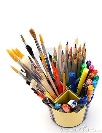 Painting tools.