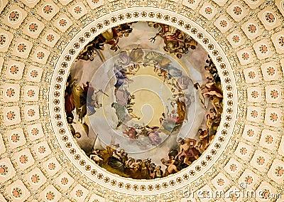 Paintings US Capitol Rotunda