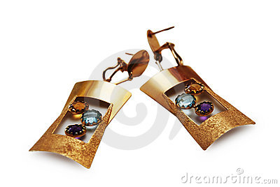 Pair of beautiful earrings