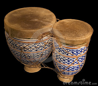 Pair of bongos