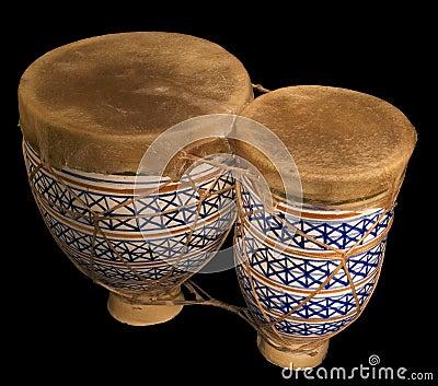 Pair of bongos