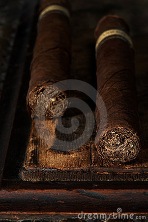 Pair of cigars