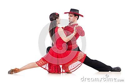 Pair of dancers