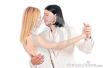Pair dancing dances
