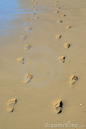 Pair of footprints