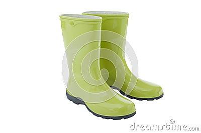 Pair of gardening boots