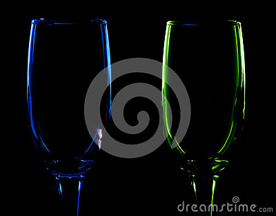 Pair of glass
