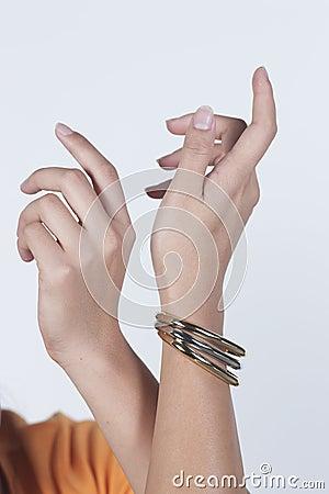 Pair of hand